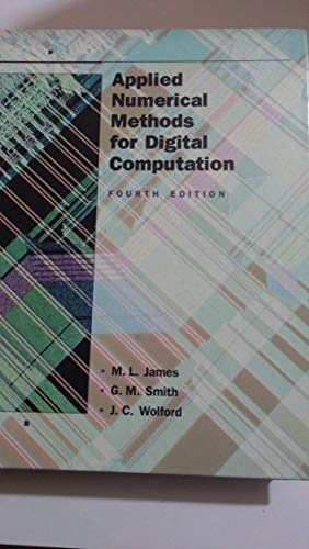 9780065004946: Applied Numerical Methods for Digital Computation