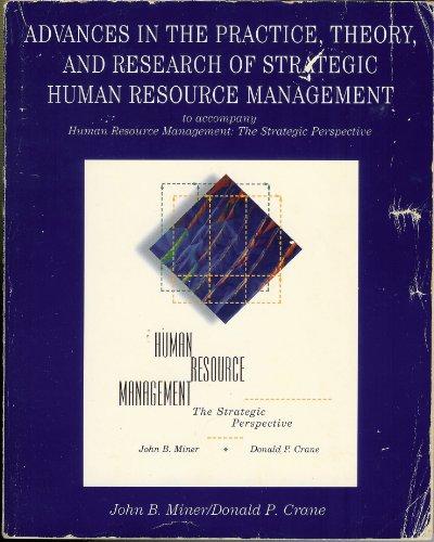 Readings Human Resource Manag Miner: John B. Miner