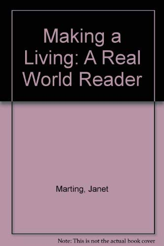 9780065005547: Making a Living: A Real World Reader