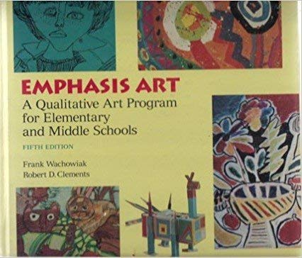 9780065006032: Emphasis Art: A Qualitative Art Program for Elementary and Middle Schools