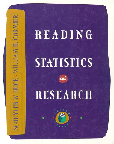 9780065006063: Reading Statistics and Research
