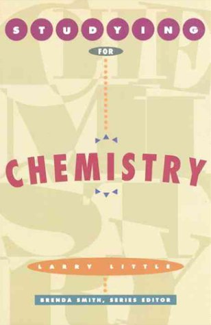 9780065006513: Studying for Chemistry (The Studying for Series)