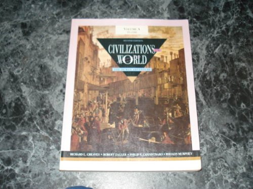 9780065006780: Civilizations of the world: The human adventure