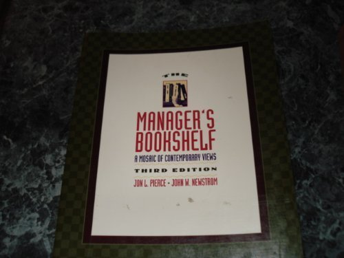 9780065007077: The Manager's Bookshelf: A Mosaic of Contemporary Views