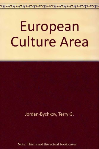 9780065007299: The European Culture Area: A Systematic Geography