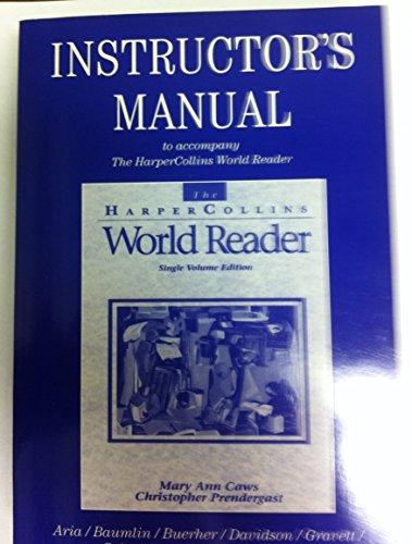 9780065007527: Instructors Manual