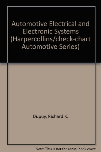 9780065007596: Automotive Electrical and Electronic Systems