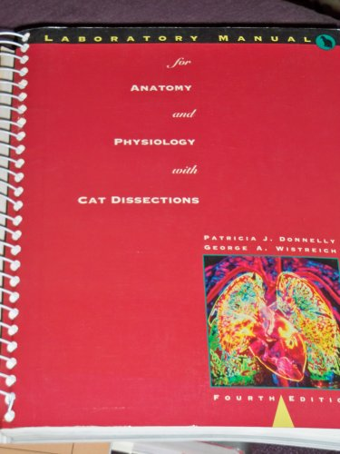 9780065009033: Laboratory Manual for Anatomy and Physiology: With Cat Dissections