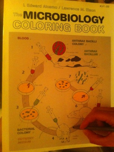 9780065009415: The Microbiology Coloring Book