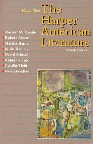 9780065009651: Harper American Literature, Volume II (2nd Edition)