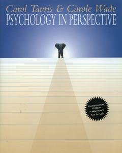 9780065009897: Psychology in Perspective (Professional Edition)