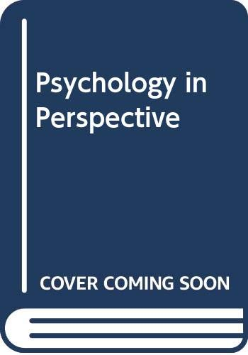 9780065009903: Psychology in Perspective