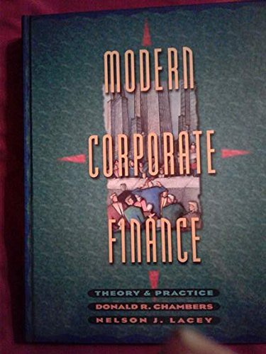 9780065010046: Modern Corporate Finance: Theory and Practice