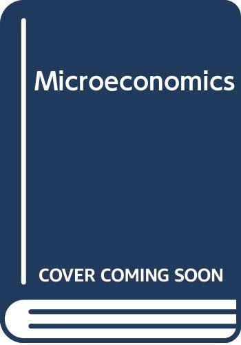 9780065010244: Microeconomics