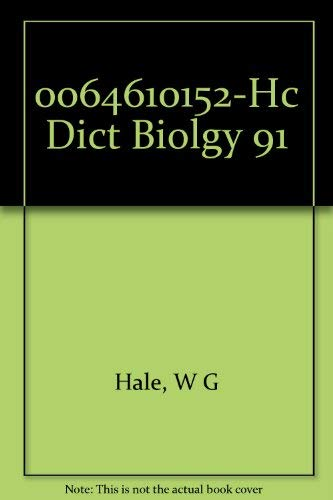 9780065010374: The HarperCollins Dictionary Of Biology