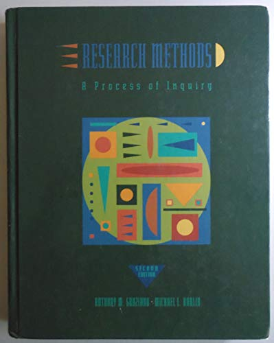 9780065010909: Research Methods: A Process of Inquiry