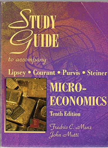 9780065010954: Study guide to accompany microeconomics, tenth edition