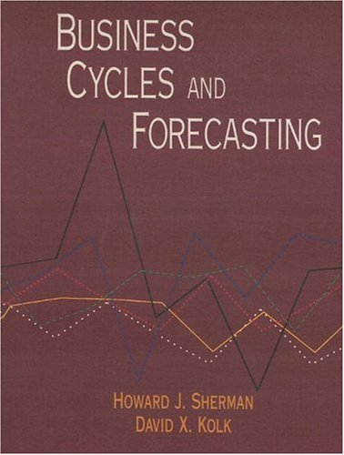 9780065011395: Business Cycles and Forecasting