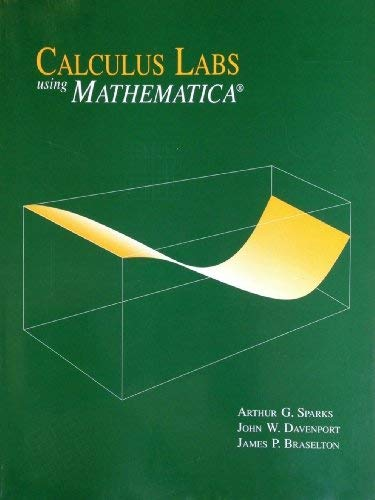 9780065011968: Calculus Labs Using Mathematica