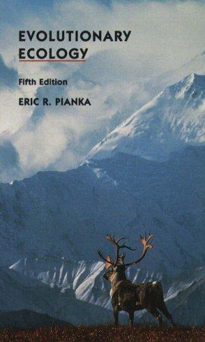 9780065012255: Evolutionary Ecology