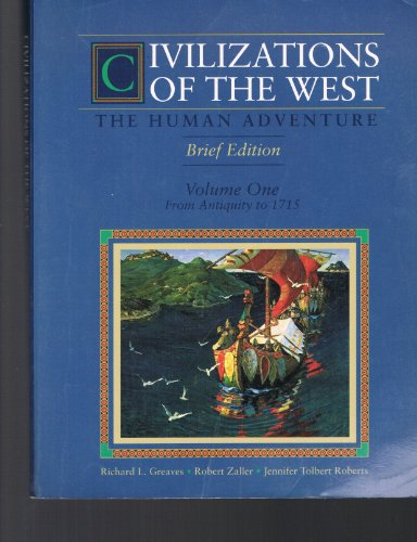 9780065012606: Civilizations of the West: The Human Adventure