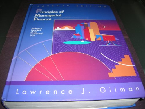 9780065012774: Principles of Managerial Finance