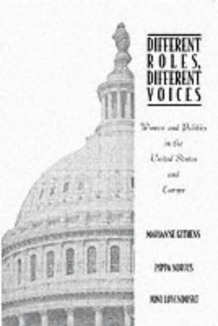9780065013061: Different Roles, Different Voices: Women and Politics in the United States and Europe