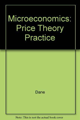 9780065016017: Microeconomics: Price Theory Practice