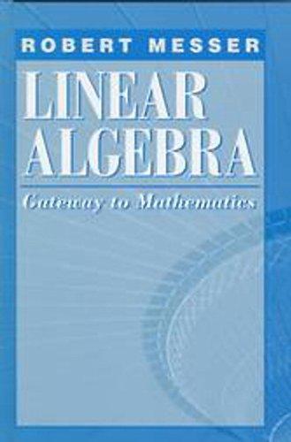 9780065017281: Linear Algebra: Gateway to Mathematics