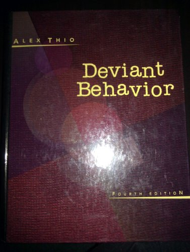 9780065018486: Deviant Behavior