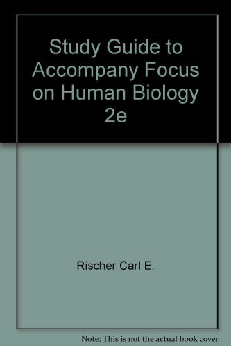 9780065019827: Study Guide to Accompany Focus on Human Biology 2e