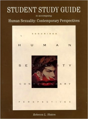 9780065021820: Student Study Guide to Accompany Human Sexuality: Contemporary Perspectives