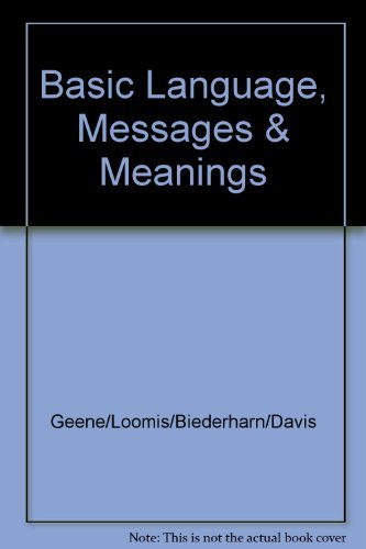 9780065301007: Basic Language, Messages & Meanings
