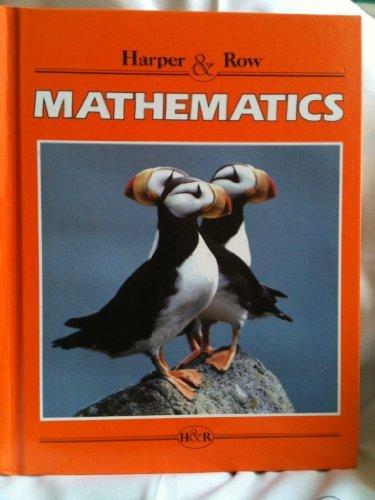 9780065450064: Harper & Row Mathematics