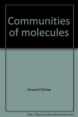 9780065611076: Communities of molecules: A physical chemistry module (IAC, interdisciplinary approaches to chemistry)