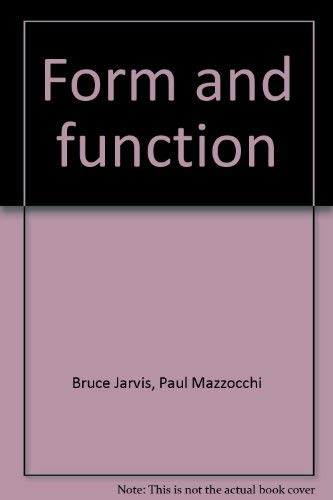 9780065611229: Form and function: An organic chemistry module (IAC, interdisciplinary approaches to chemistry)