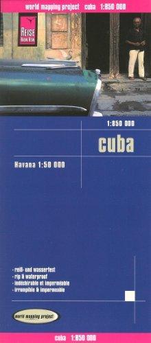 9780065801972: Cuba 1:850,000 & Havana Travel Map, waterproof, GPS-compatible REISE