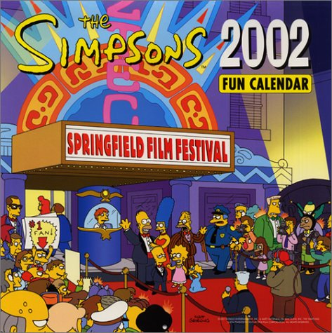 9780066211510: The Simpsons 2002 Fun Calendar