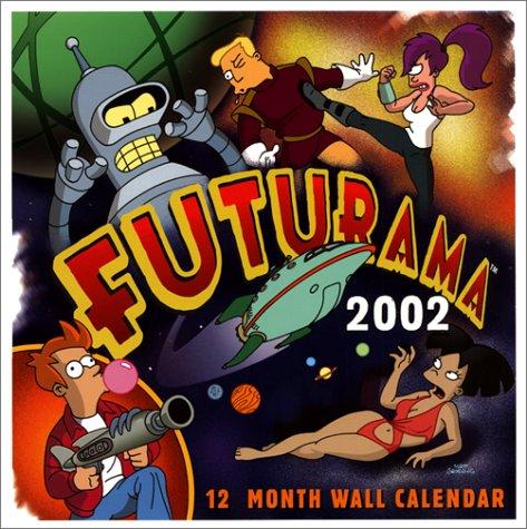 9780066211527: Futurama 2002 Calendar
