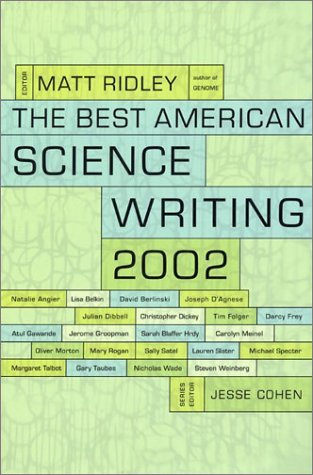 9780066211626: The Best American Science Writing 2002