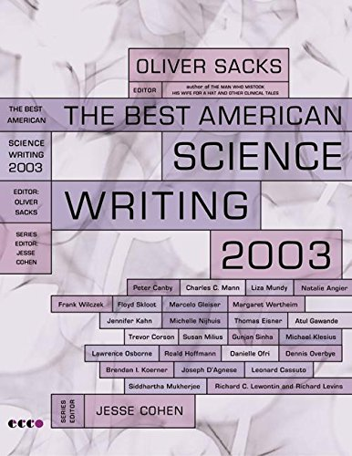 9780066211633: The Best American Science Writing 2003