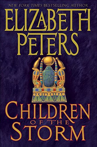 Children of the Storm. SIGNE 1st EDITION.: ELIZABETH PETERS