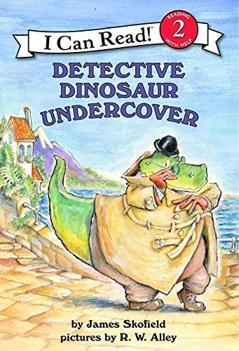 9780066238784: Detective Dinosaur Undercover (I Can Read Books: Level 2)