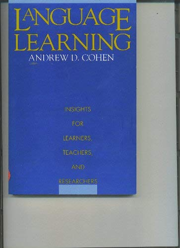 Language of Learning: Cohen, Andrew D