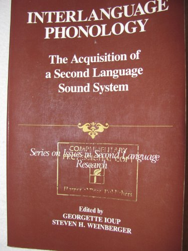 9780066322872: Interlanguage Phonology: Acquisition of a Second Language Sound System (Series on Issues in Second Language Research)