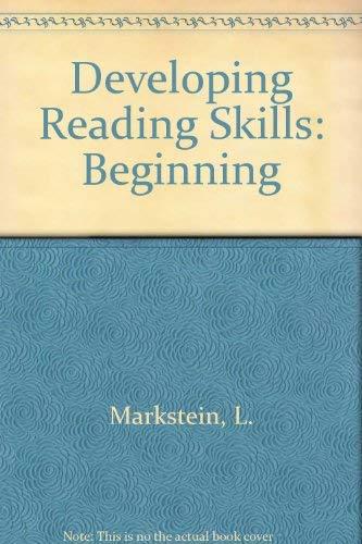 9780066324029: Developing Reading Skills: Beginning