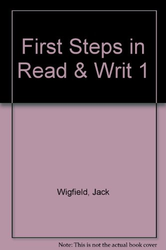 9780066325705: First Steps in Reading and Writing