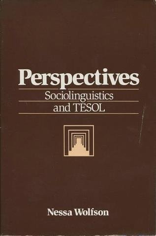 9780066325729: Perspectives on Sociolinguistics