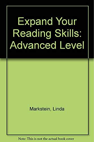 9780066326351: Expanding Reading Skills-Advanced