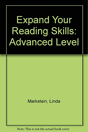 9780066326351: Expanding Reading Skills-Advanced